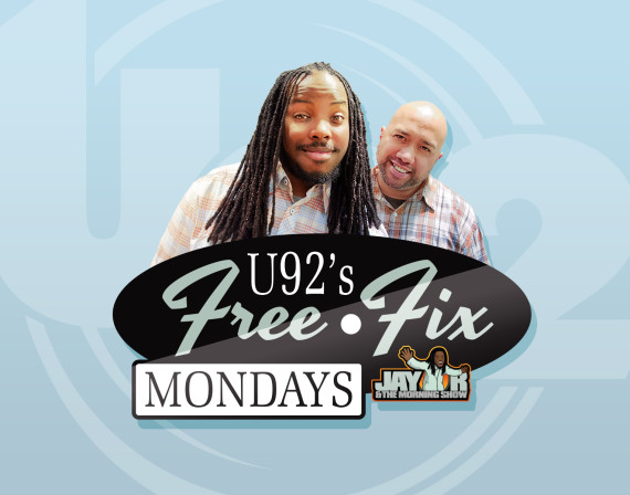 Free Fix Mondays with Jay R and The Morning Show